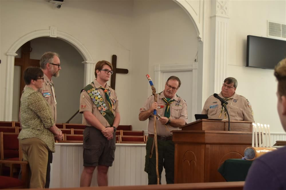 Austin Barefoot Earns Eagle Scout Honors