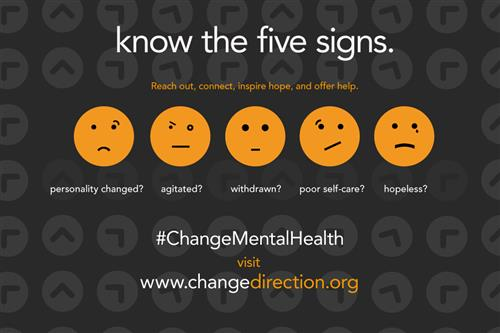 Five Mental Health Danger Signs