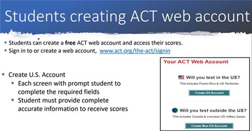 ACT Reporting 2
