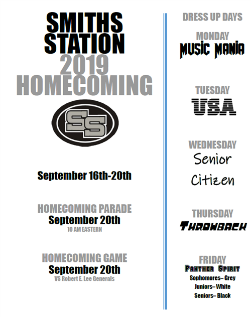 Smiths Station High / Homepage