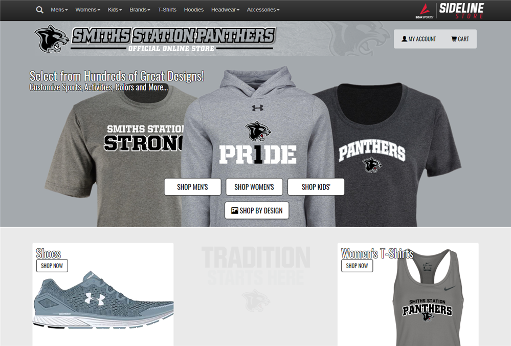 Smiths Station Panthers Official Online Sideline Store
