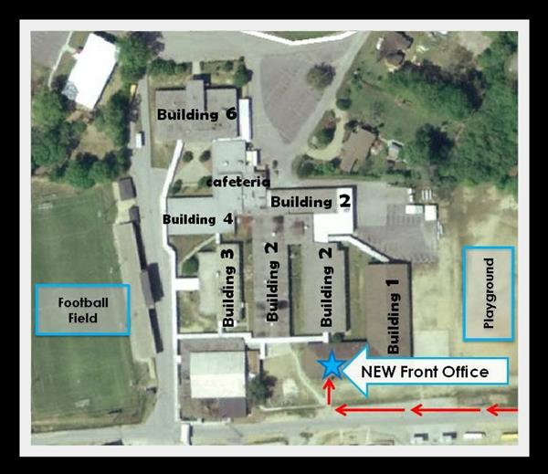 Location of New Front Office