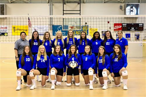 2019 Beauregard High School JV Volleyball Team