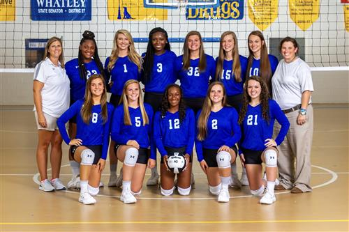 Beauregard High School Varsity Volleyball Team