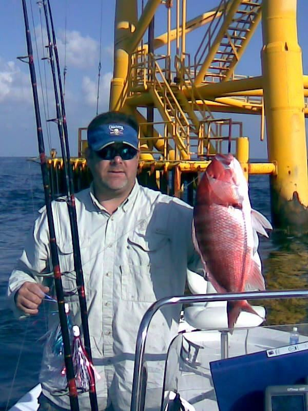 Joaquin  Richards and Gulf Snapper