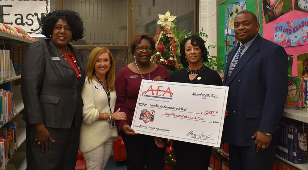 AEA Be A Champion and Read Contest- School Participation Winners