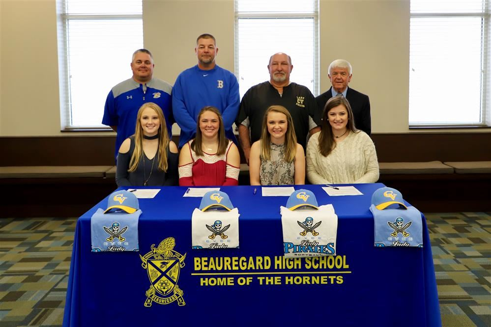 Four BHS Softball Players Sign with CVCC