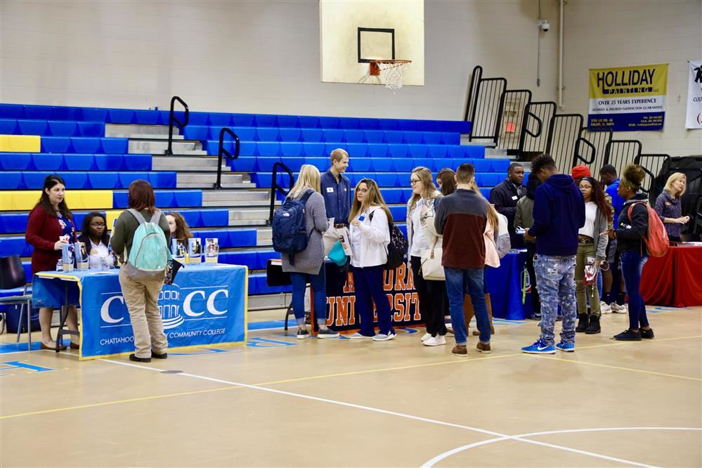 College at Career Day at Beauregard HS