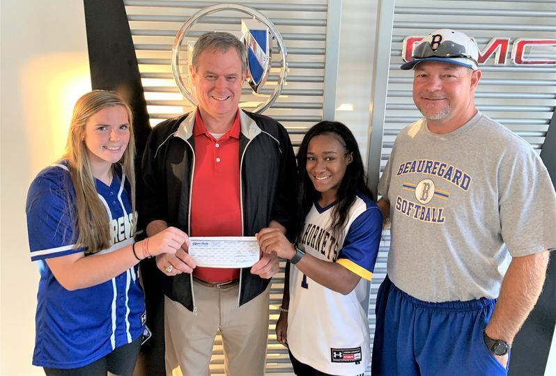 Glynn Smith Chevrolet / Buick / GMC Supports Beauregard High School Softball