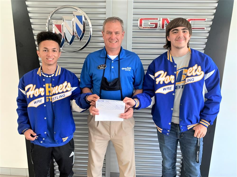 Glynn Smith Chevrolet / Buick / GMC Supports Beauregard High School Wrestling