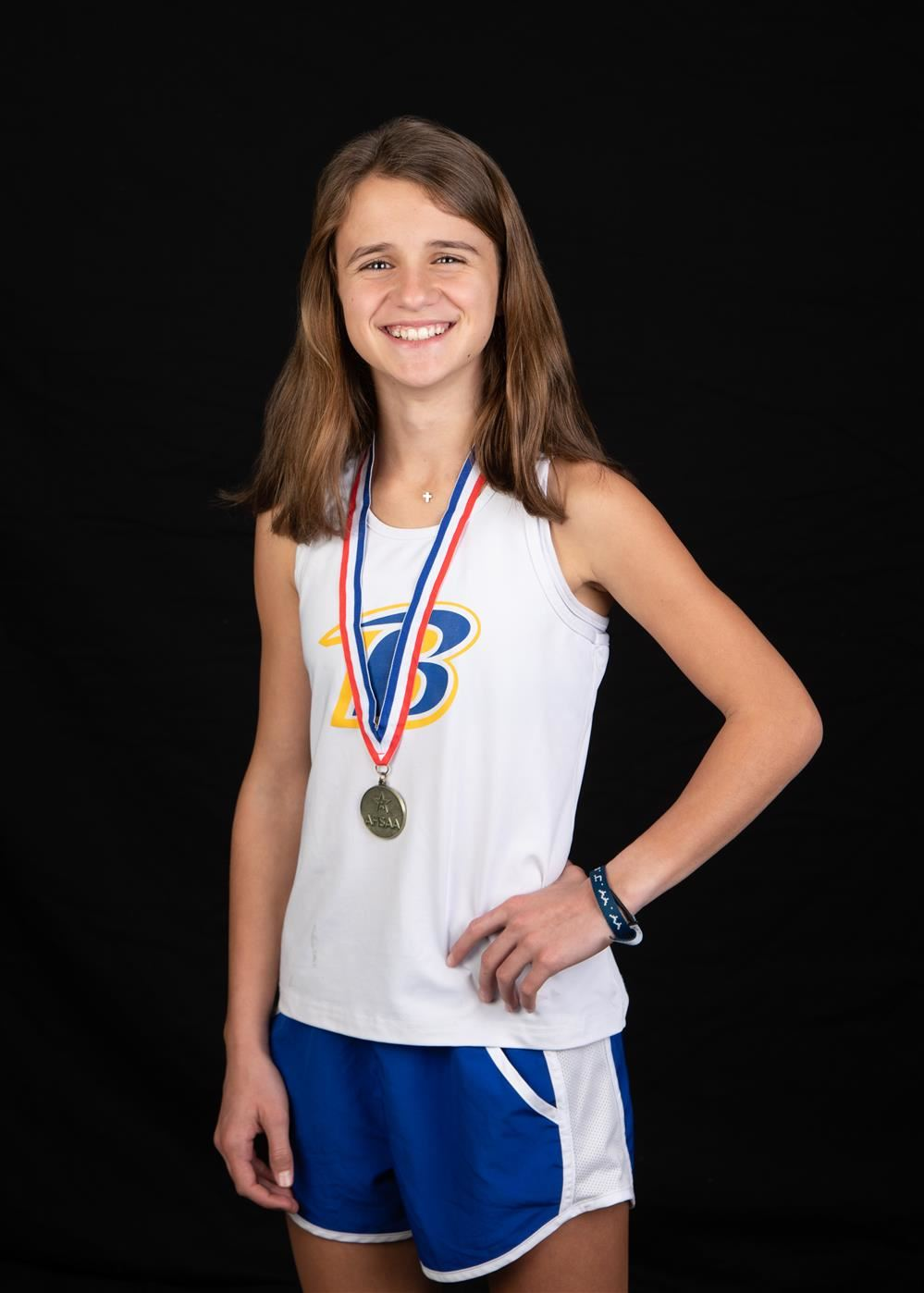 Molly Conway: AHSAA Girls Cross Country State Champion