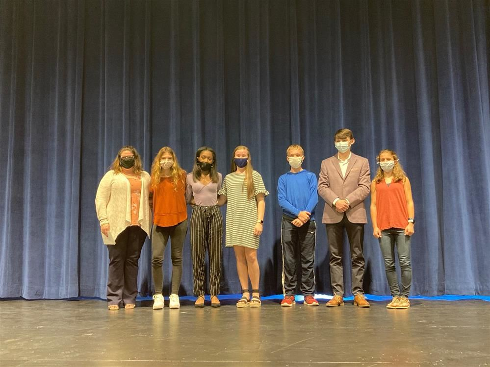 Mrs. Ives' Students Participate in Poetry Out Loud