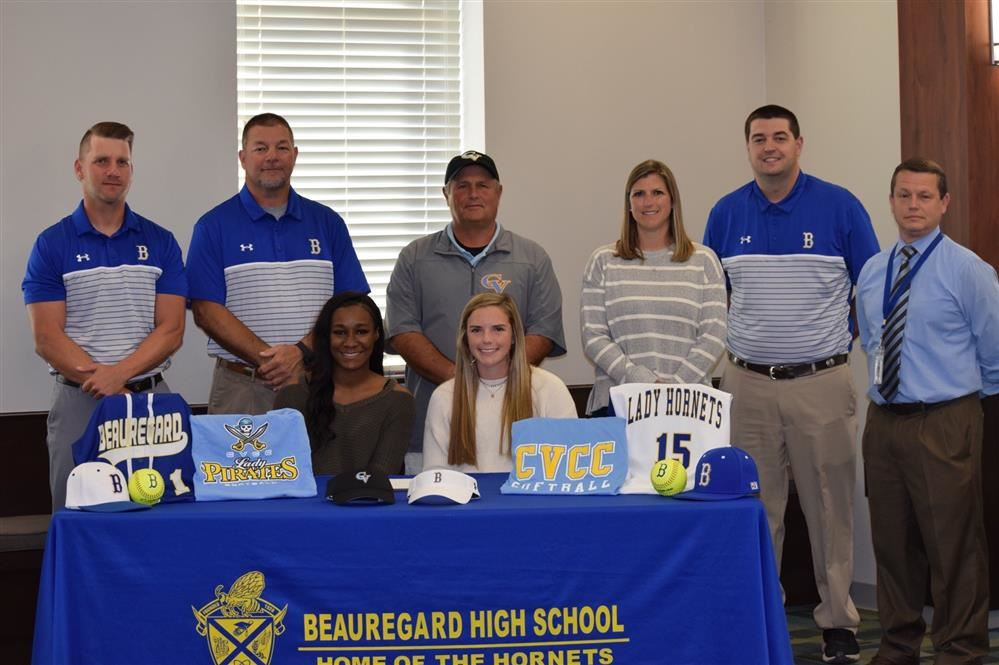 Softball Players Sign To Play At CVCC